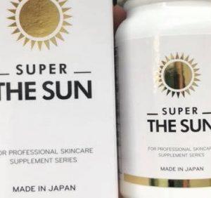VIÊN UỐNG CHỐNG NẮNG SUPER THE SUN NHẬT BẢN