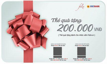 Thẻ quà tặng đang là chiêu thức kinh doanh thông minh?