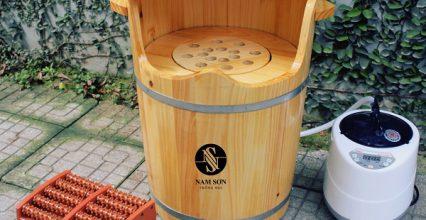 Nâng cao chất lượng cuộc sống với thùng gỗ xông hơi 4in1