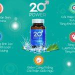 Cách nhận diện sản phẩm 20 Power chính hãng
