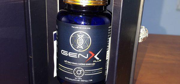 Thực phẩm chức năng Gen X giúp cánh mày râu lấy lại phong độ