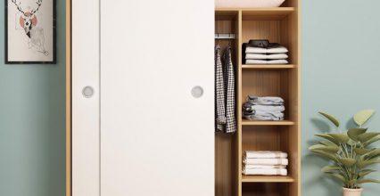 Lựa chọn tủ áo cửa lùa cho không gian hẹp