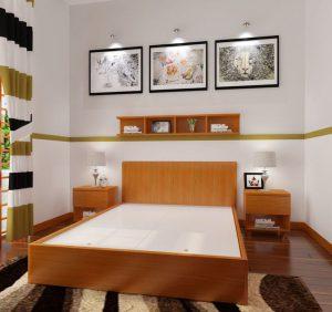 Bày trí các mẫu giường ngủ gỗ đẹp như thế nào?