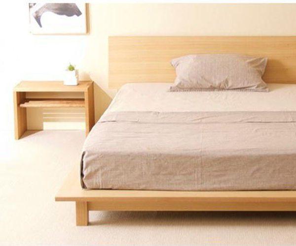 Điểm đặc biệt trong thiết kế của giường Nhật?