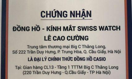 Ở Hà Nội nên mua đồng hồ Casio chính hãng tại đâu?